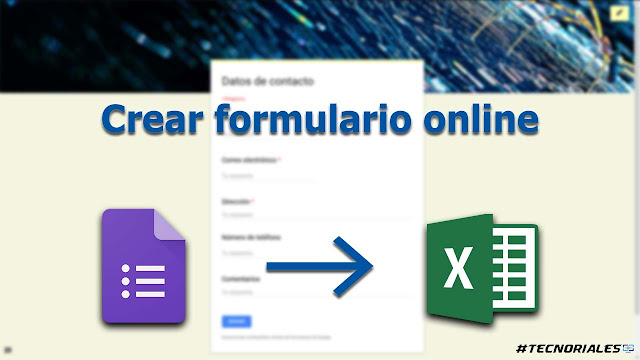 google forms a excel