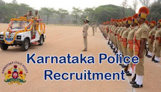 Karnataka Police Recruitment 2017