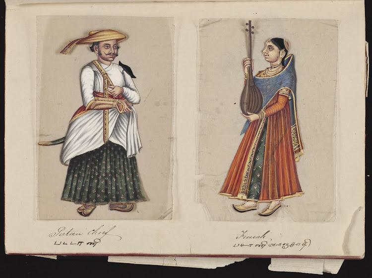 Patau Chief and Female