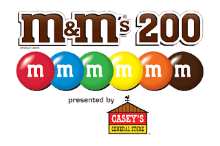 #NASCAR Camping World Truck Series M&Ms 200 presented by Casey's General Store