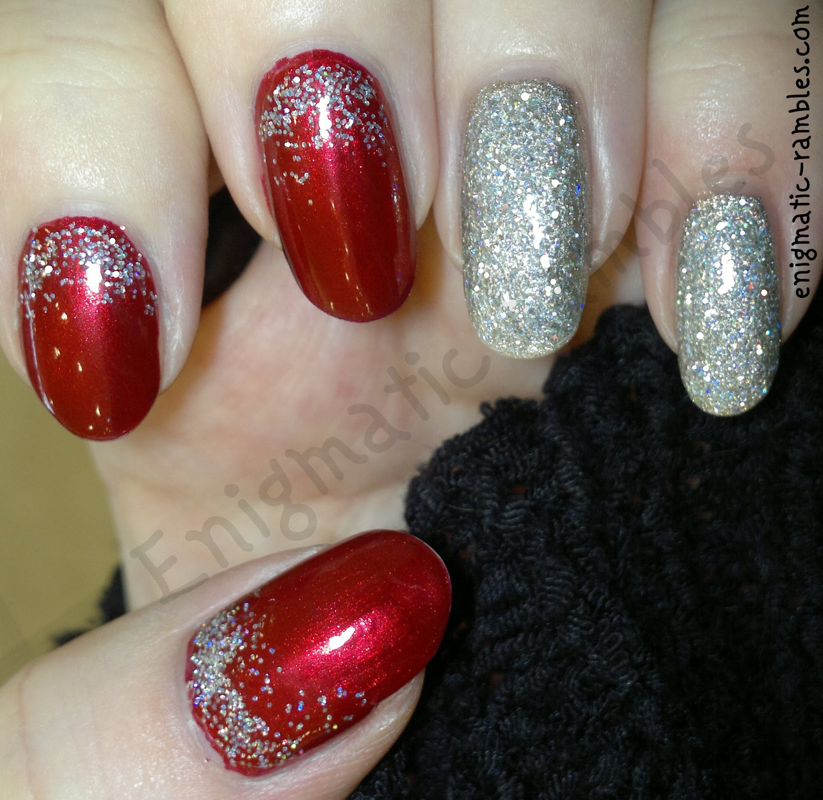 festive-glitter-gradient-nails-leighton-denny-be-my-berry-models-own-juicy-jules-essie-beyond-cozy