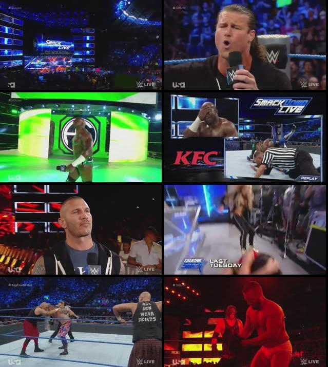WWE Smackdown Live 30 August 2016 HDTV 480p