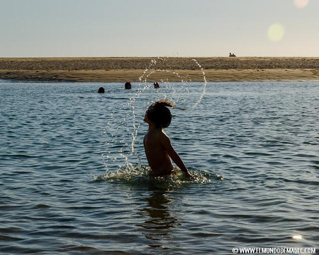 playas-del-alentejo. La laguna de playa de Furnas