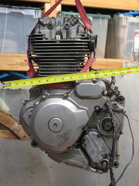 Suzuki DR 650 Engine