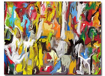 contemporary abstract painting, digital painting, digital art, digital artist, abstract art, abstract wall art, artist, artwork, buy art, gallery, Sam Freek, multi coloured,