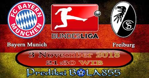 Prediksi Bola855 Bayern Munich vs Freiburg 3 November 2018