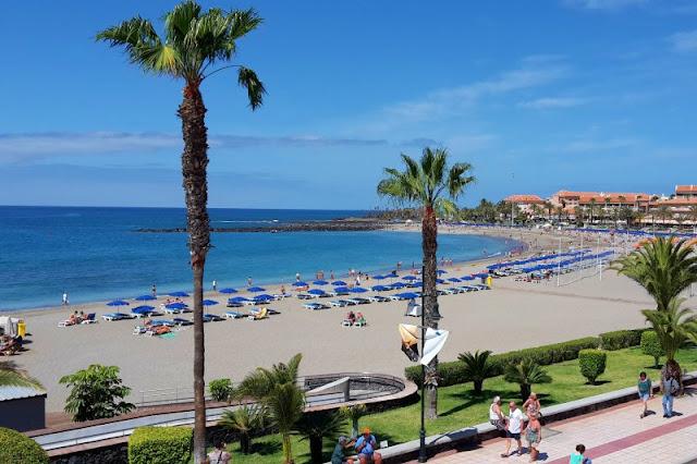 Tenerife. Playa de las vistas