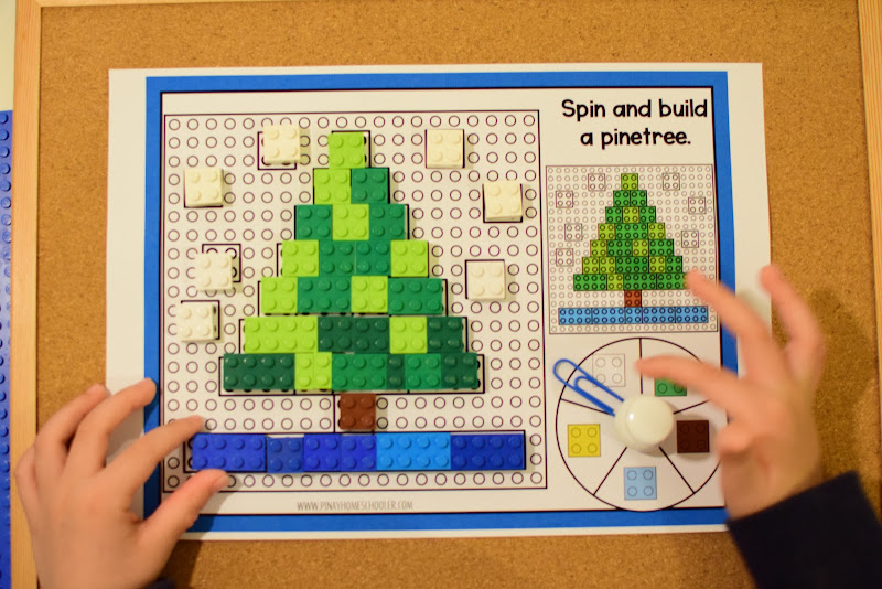 LEGO Build - Spin and Build a Pine Tree