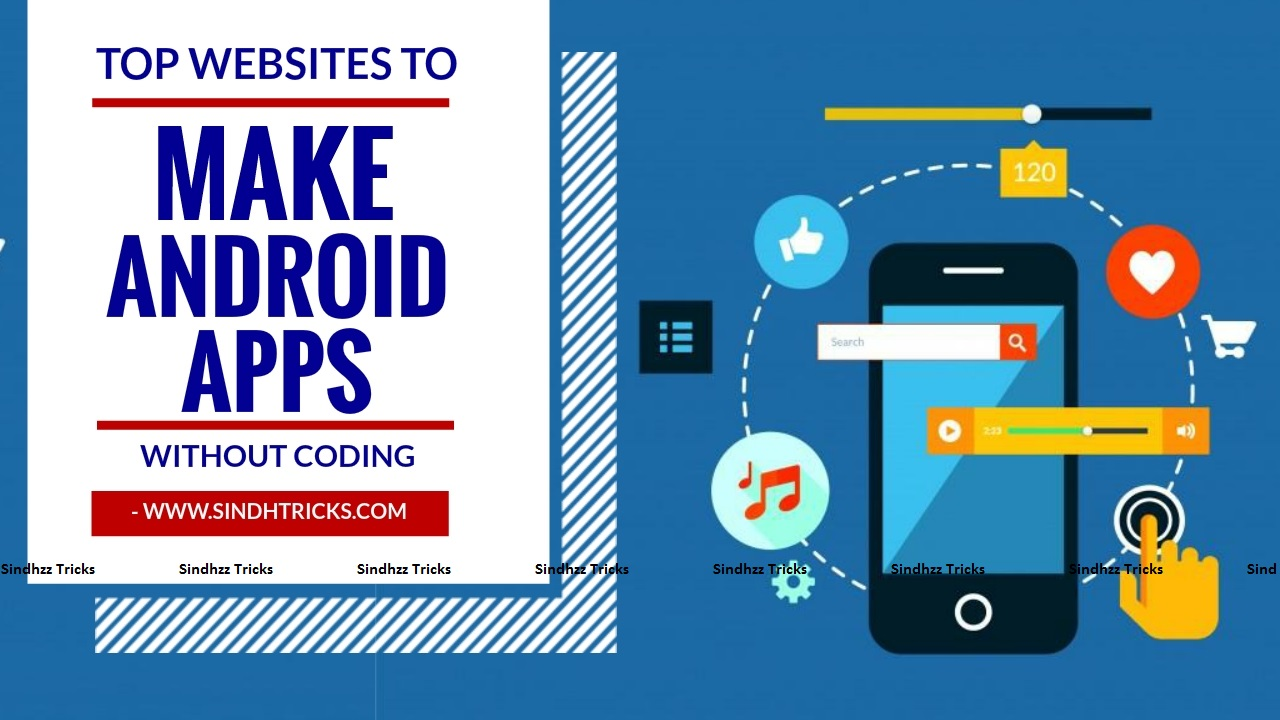 Make your android app in 5 minutes without coding for Free blueprint maker app