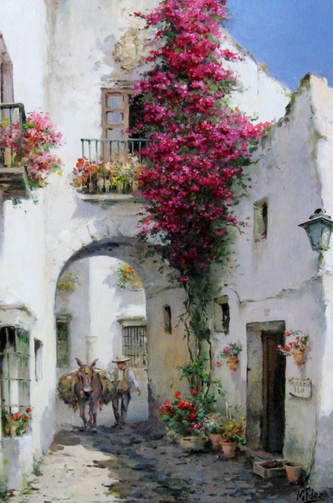 Cuadros modernos pinturas y dibujos lbum de paisajes for Cuadros verticales grandes