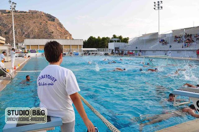 Στον όμιλο Πατρών το Παιδικό τμήμα του Ναυτικού Ομίλου Ναυπλίου για το πρωτάθλημα υδατοσφαίρισης