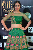 Nandita Swetha in a tight Green Choli Ghagra at IIFA Utsavam Awards March 2017 ~ 004.JPG