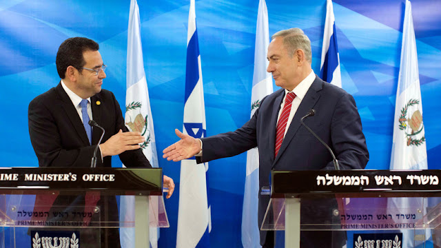 Guatemala sigue los pasos de EE.UU.: Trasladará su embajada en Israel a Jerusalén