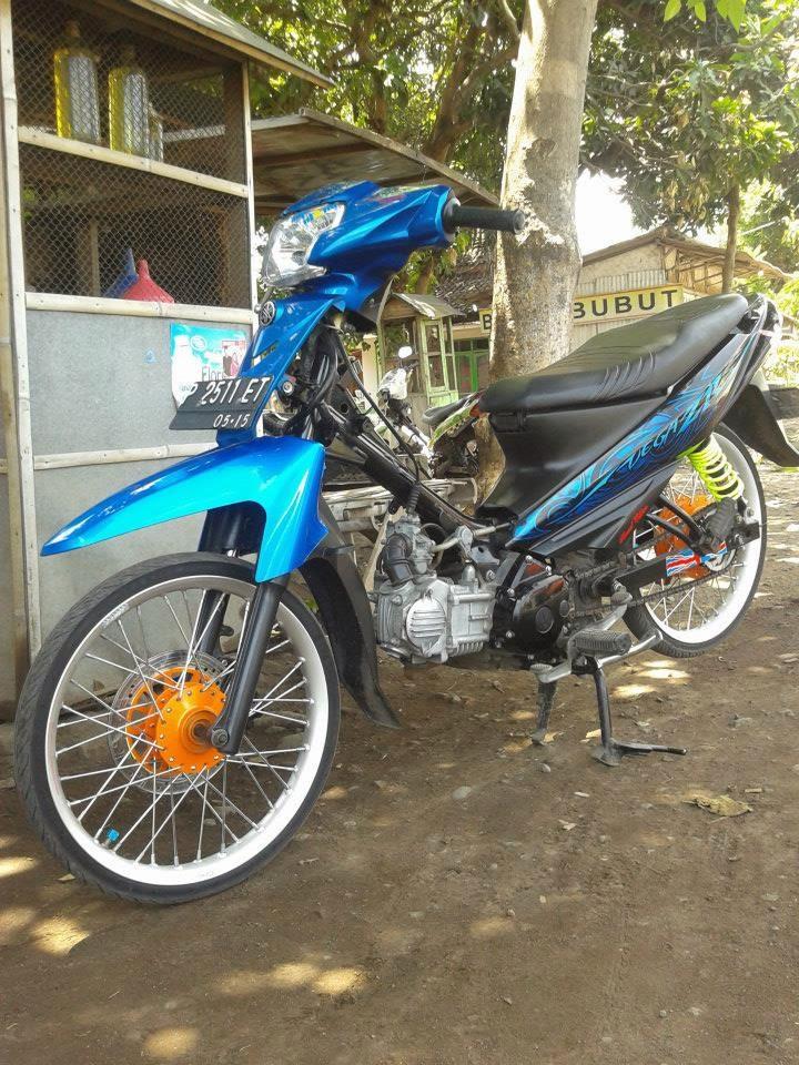 Modifikasi Motor Vega Zr Warna Hitam : modifikasi, motor, warna, hitam, Modifikasi, Motor, Warna, Hitam, Arena
