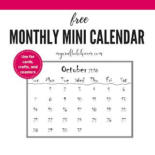 Coaster Calendars