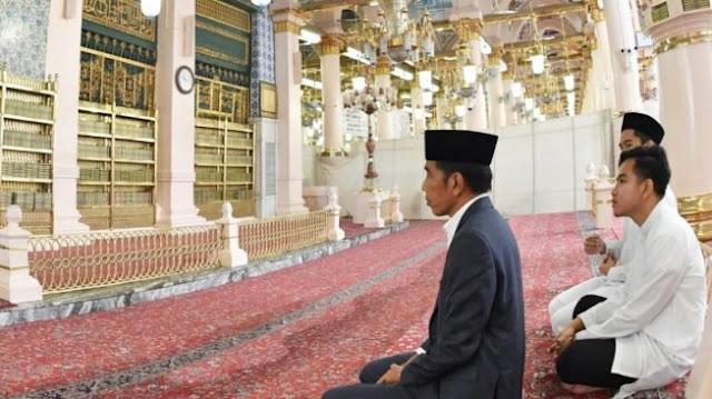 Iriana Jokowi, Wanita Pertama yang Diizinkan Masuk Makam Nabi Muhammad