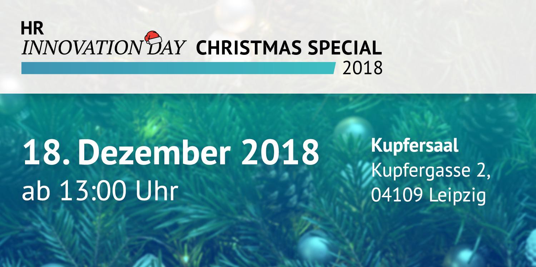 Leipziger-HRM-Blog: Christmas Special des HR Innovation Days 2018 ...
