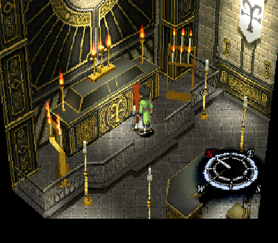 Xenogears - Catedral
