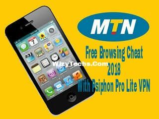 MTN free browsing cheat 2018