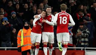 Arsenal vs Huddersfield Town 5 - 0 Video Gol & Highlights.