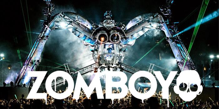ダブステップの代表的なDJ、Zomboy(ゾンボーイ)人気曲おすすめを紹介
