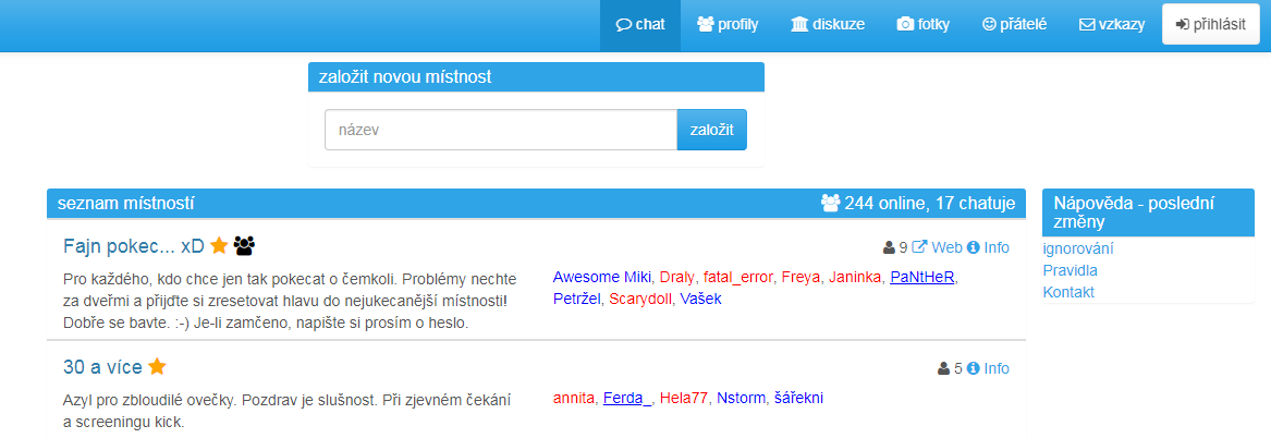 vážné seznamky chatovací místnostijak napsat skvělou datovací zprávu