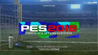 FTS Mod PES 2018 by Haikal Apk + Data Obb