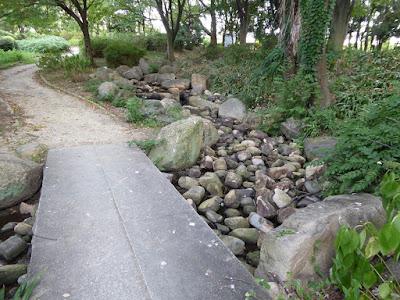 大阪城公園城南地区 水場