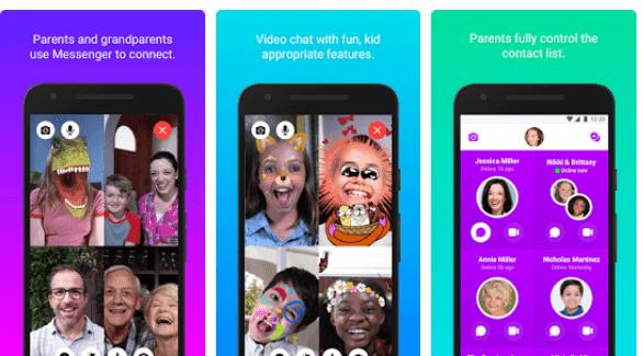 تطبيق Messenger Kids الخاص بالاطفال