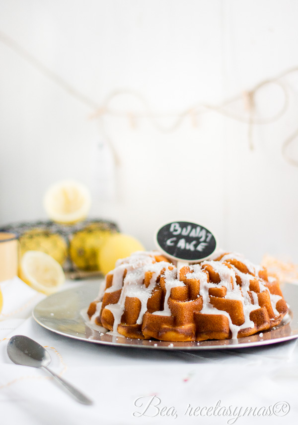 Coconut and Lemon Quark Cheese Bundt Cake