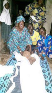 SHOCKING DETAILS OF HOW A WOMAN'S CORPSE BURIED 4YEARS AGO WAS STILL FRESH (GRAPHIC PHOTOS)