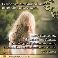 Progetto Vajra citazioni dalai lama condividere