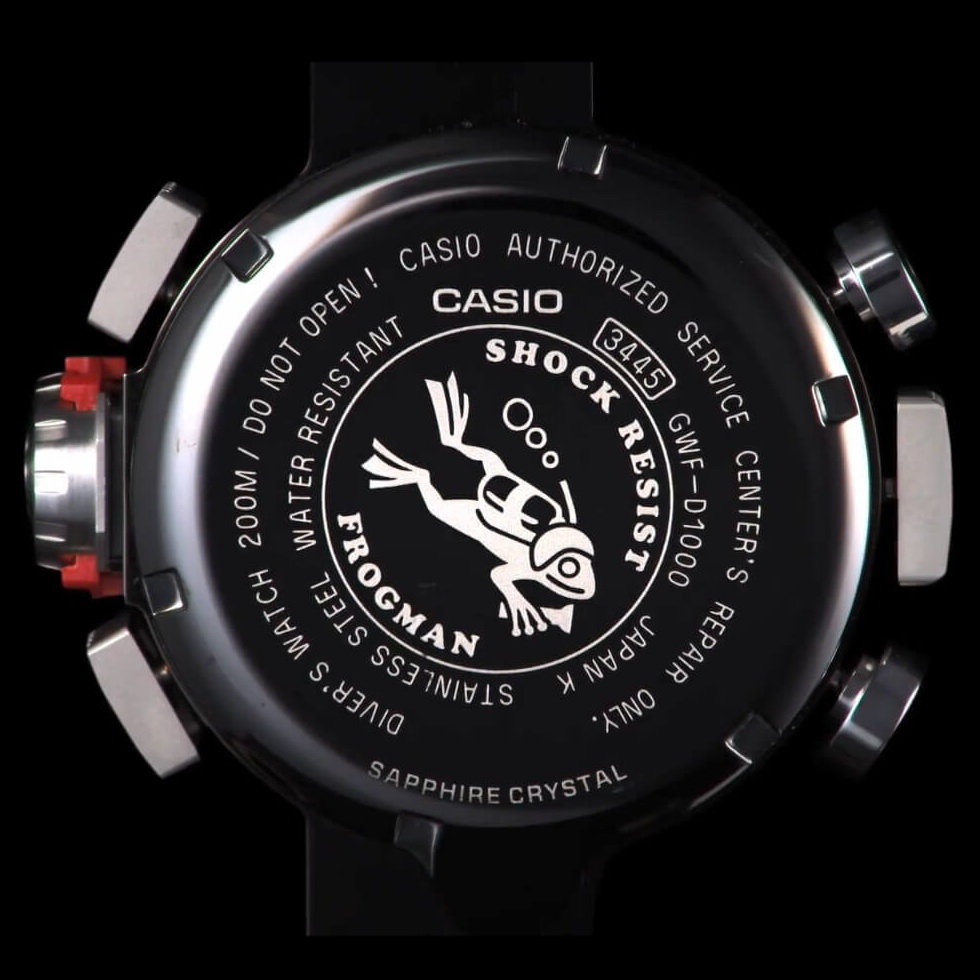 fb6b7abc67 The watch is also ISO 200M Water-Resistant and in addition its  diving-specific diving qualities, the Frogman also takes advantage a  digital watch that ...