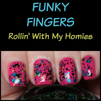 funky fingers rollin with my homies on wednesdays we wear pink review swatches clueless mean girls