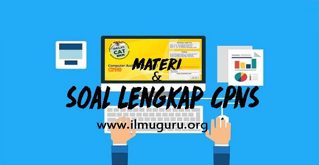 Free Download Materi dan Soal Lengkap Calon Pegawai Negeri Sipil  Download Terbaru Materi dan Soal Lengkap CPNS