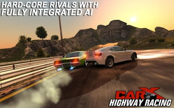 CarX Highway Racing v1.38 Mod Apk Lots Of Money