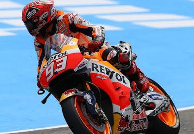 Marquez Akui Lintasan Jerez Tak Lagi Bersahabat Dengannya