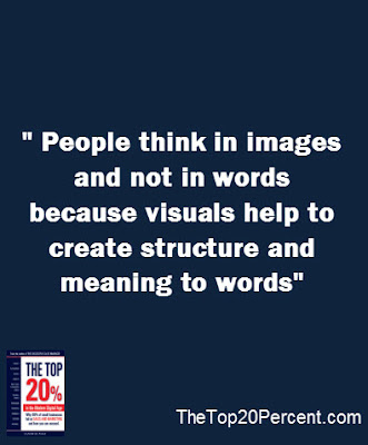People Think In Images And NOT Words