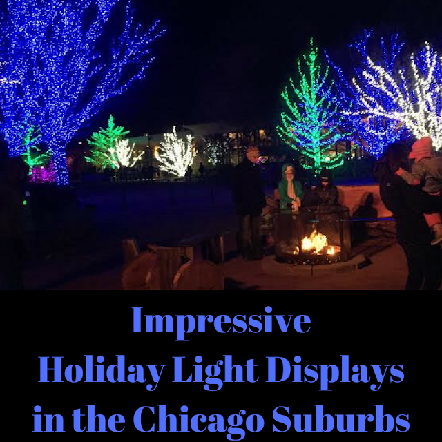 Impressive Holiday Light Displays in the Chicago Suburbs