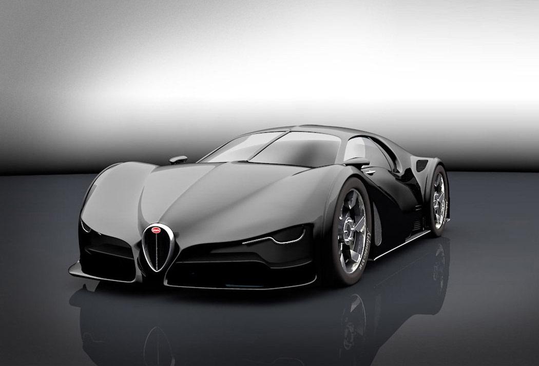 Tecnoneo Este Concepto Del Bugatti Type 57sc Atlantic