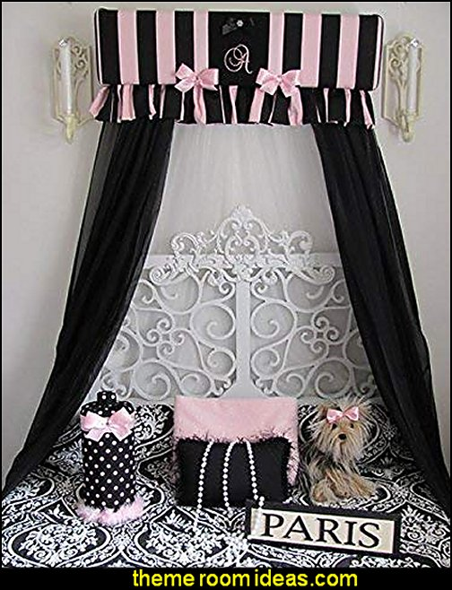 bed canopy paris bedrooms  paris bedroom - Paris themed bedroom ideas - Paris style decorating ideas - Paris themed bedding - Paris style Pink Poodles bedroom decorating -  French theme Paris apartment furniture - Paris bedroom decor - decor Paris style French Poodles - room decor french poodle - Paris Postcard bedding - Paris themed teenage bedroom ideas - Paris eiffel tower decor - decorating ideas for paris themed bedrooms - Paris Inspired Nursery - Paris bedrooms - Poodles in Paris