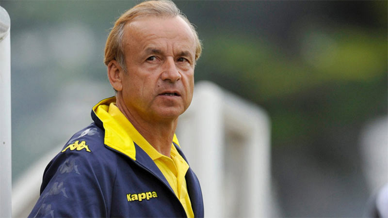 I did not reject my official apartment, Super Eagles coach Gernot Rohr says