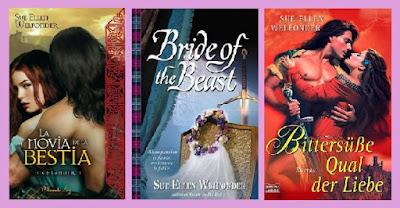 portadas de La novia de la bestia
