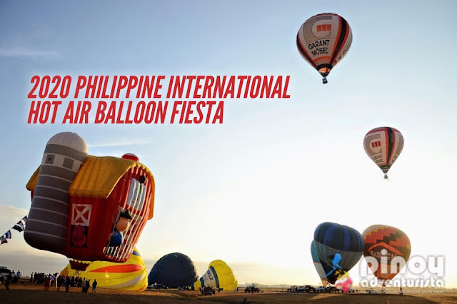 Philippine International Hot Air Balloon Fiesta 2020 PIHABF