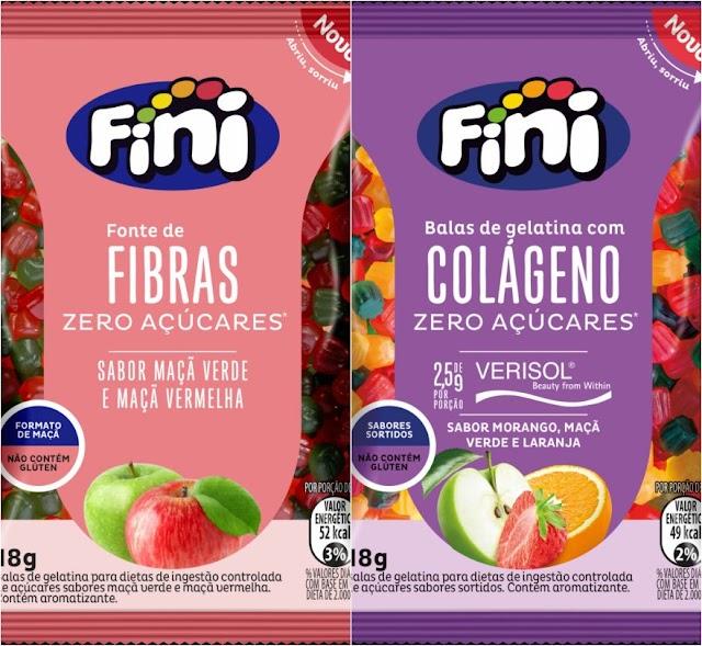 Fini apresenta Fibras e Colágeno com nova fórmula na linha Bem-Estar
