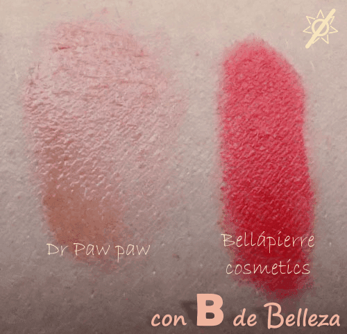 Swatch tinted lip balm