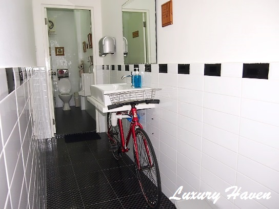 moses lim praise gourmet bicycle sink restroom