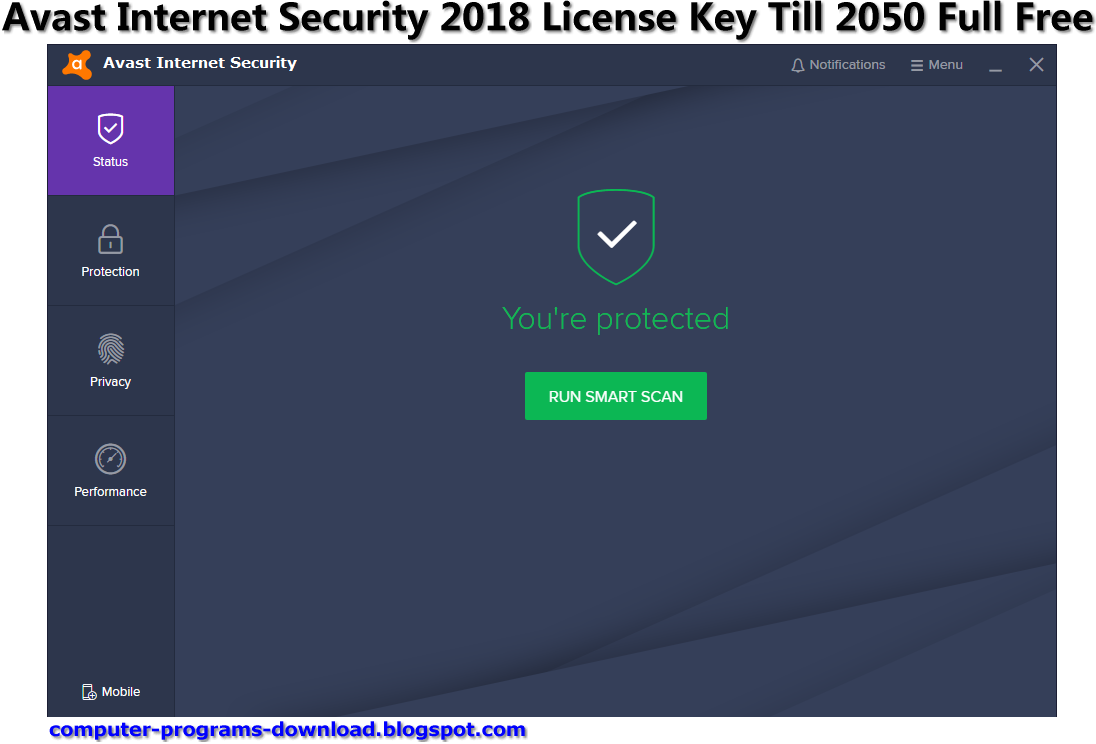 free license key for avast internet security