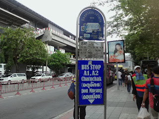bus chatuchak mo chit don Muang Bangkok