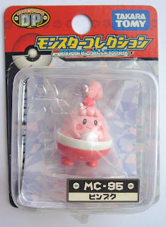 Happiny Pokemon figure Tomy Monster Collection MC series
